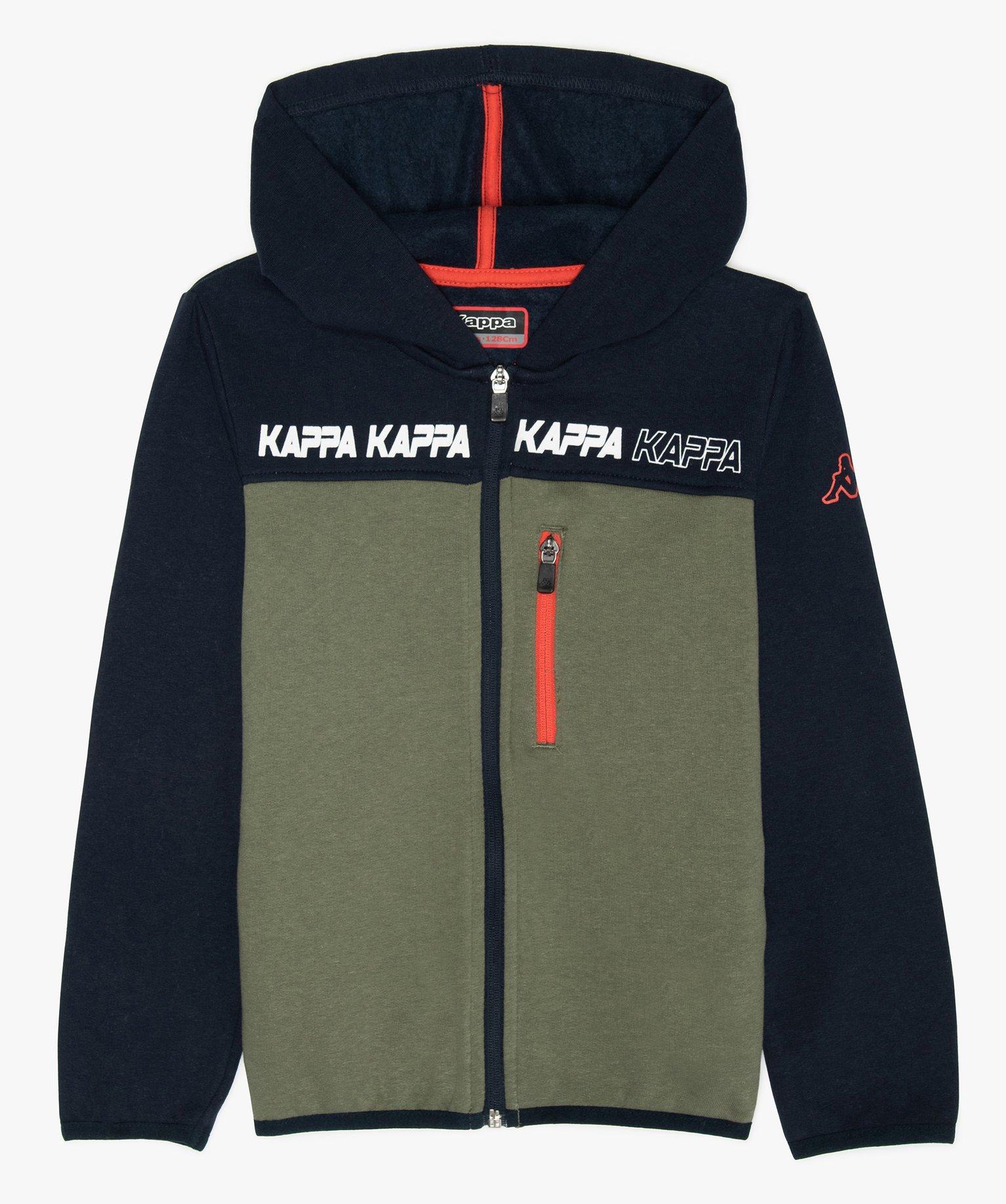 Sweat garçon chaud à zip et capuche – Kappa