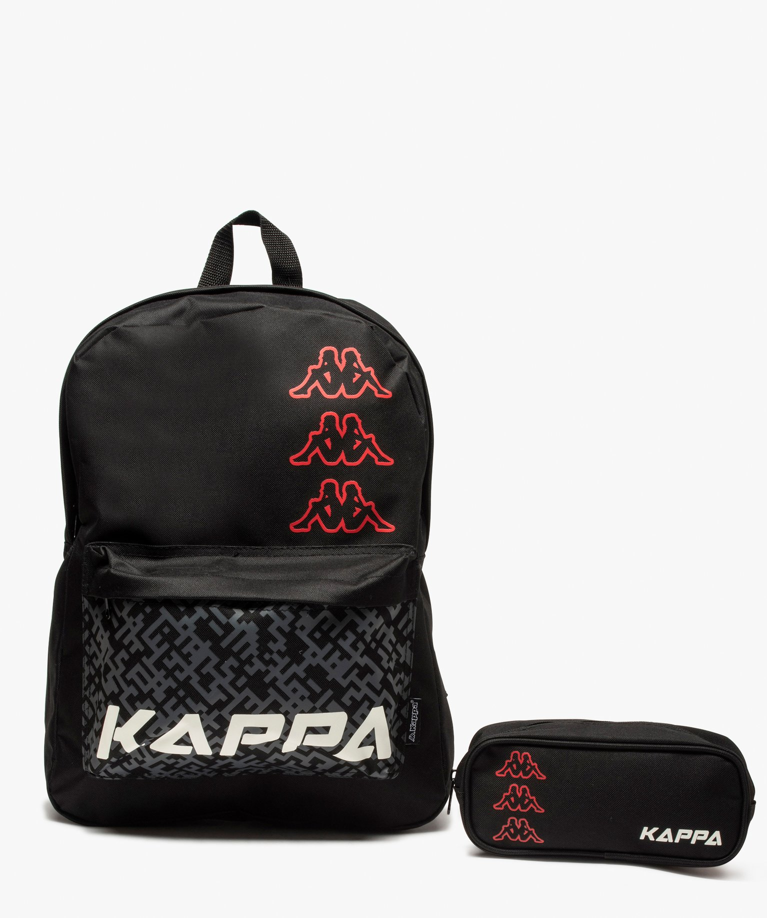 Sac à dos garçon avec trousse assortie - Kappa