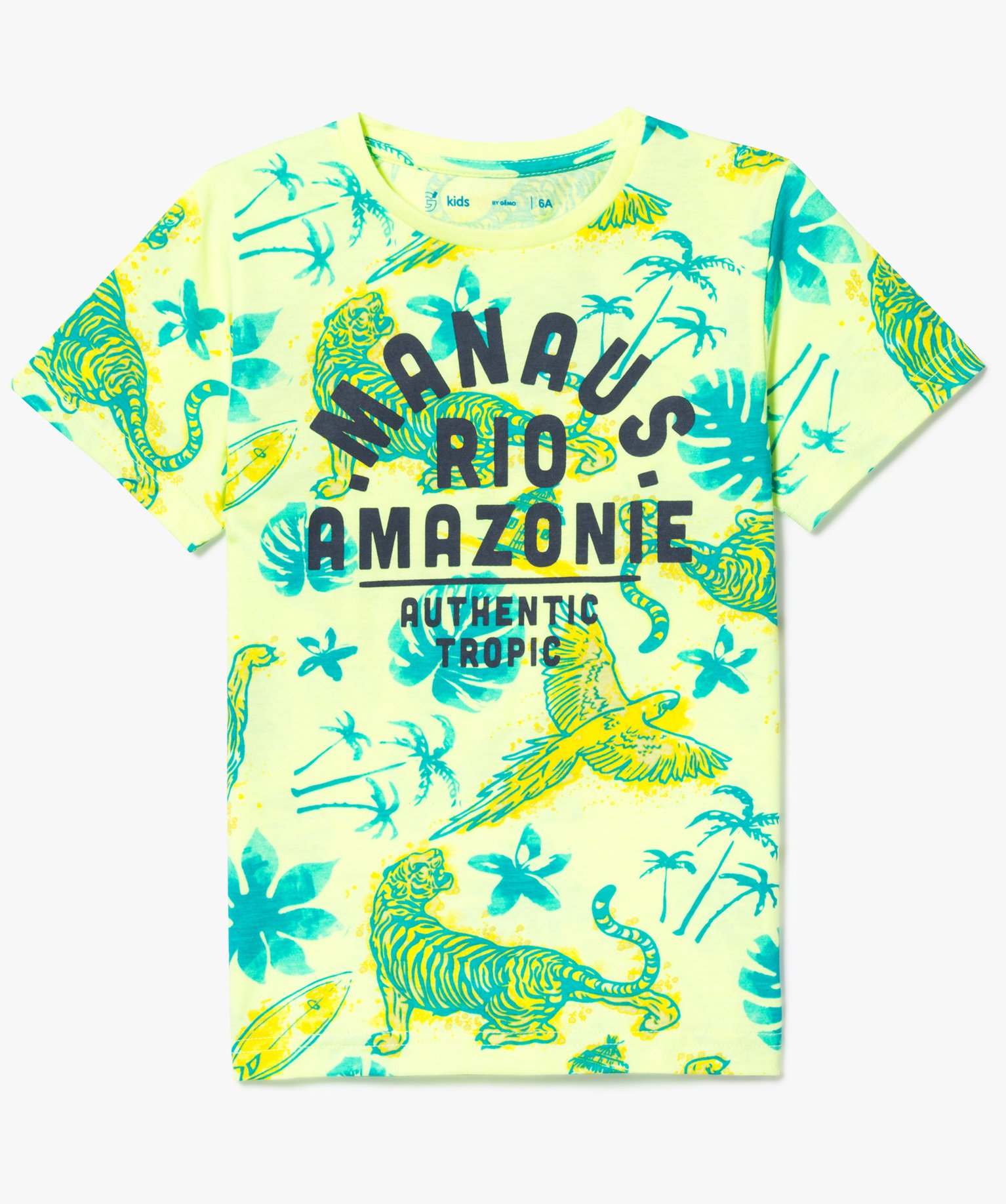 Tee-shirt tendance jungle