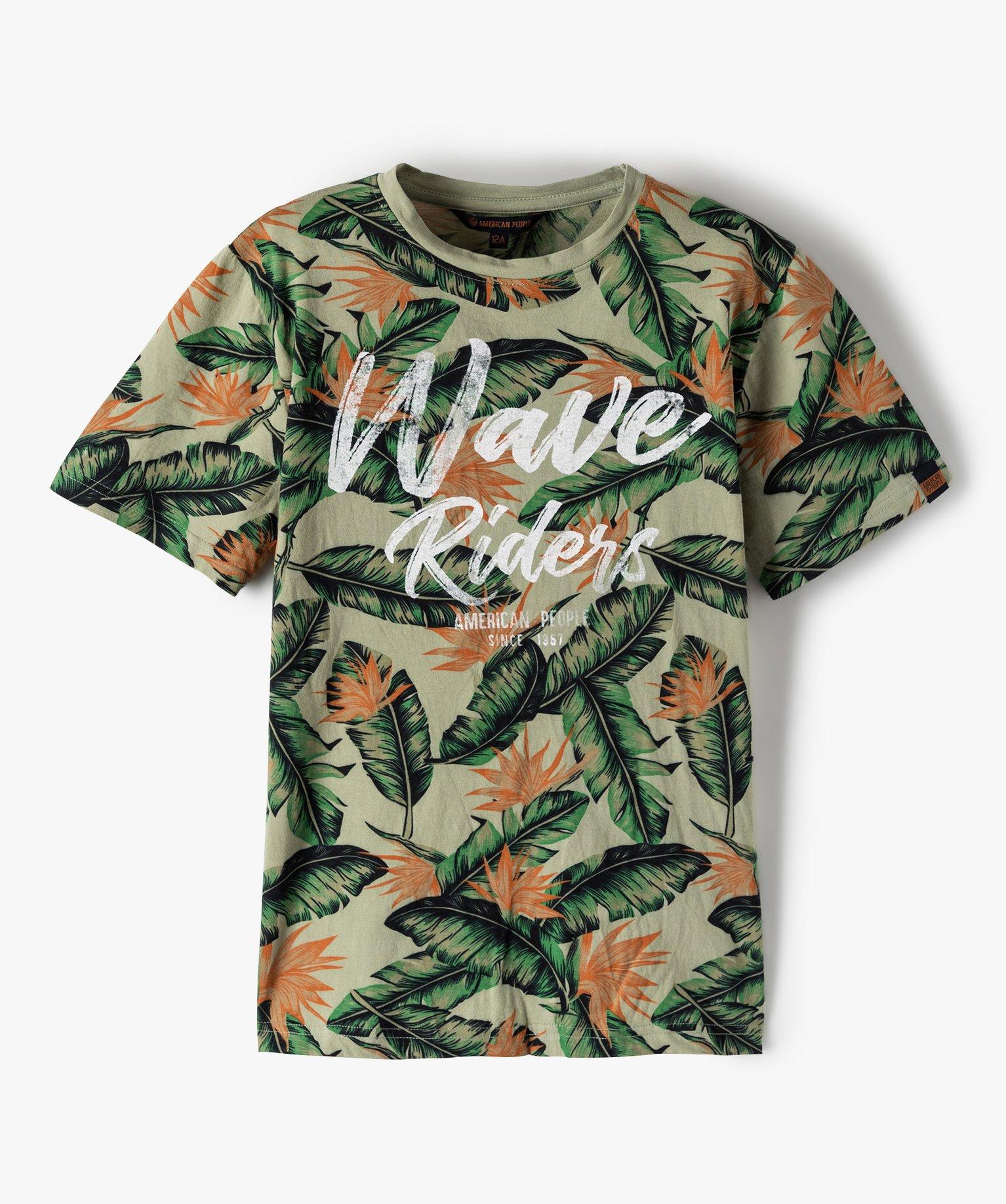 Tee-shirt garçon imprimé jungle - American People