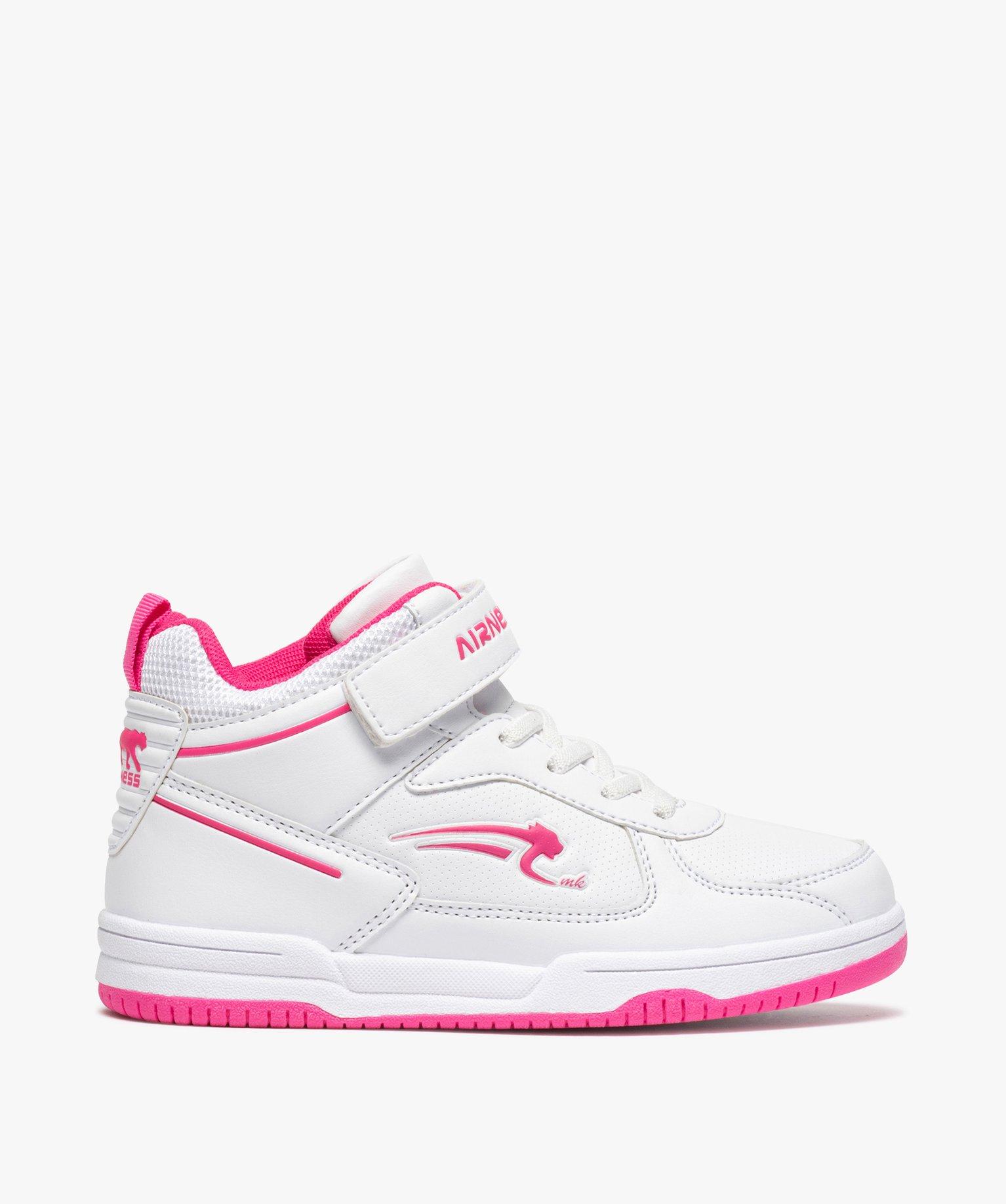 Baskets fille semi-montantes bicolores - Airness