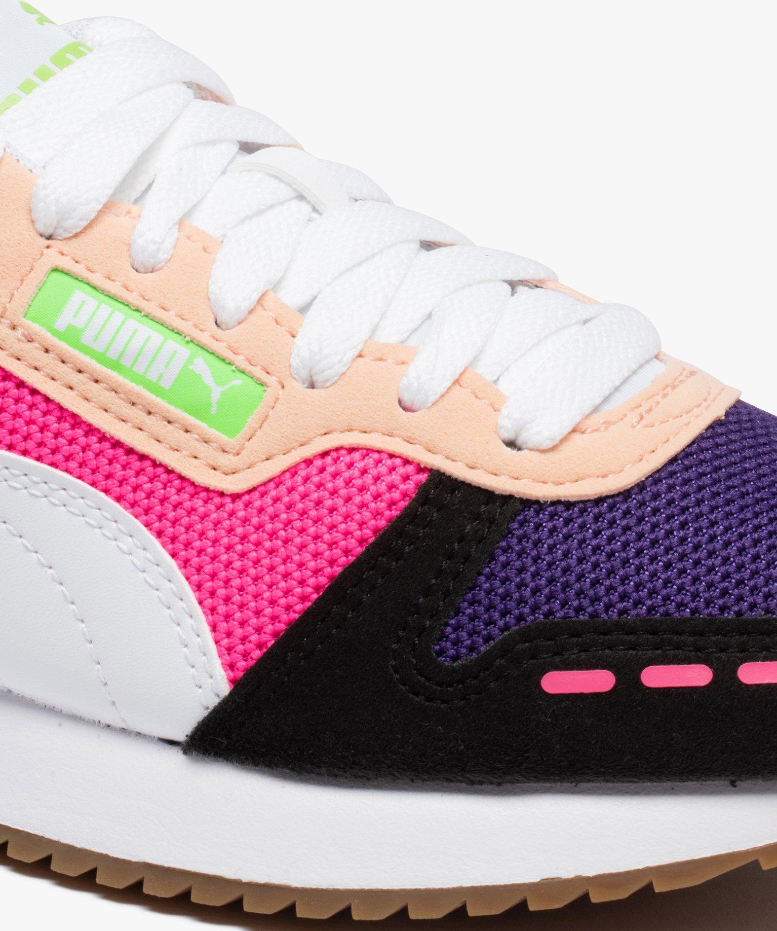Baskets femme multicolores – Puma R78   GEMO
