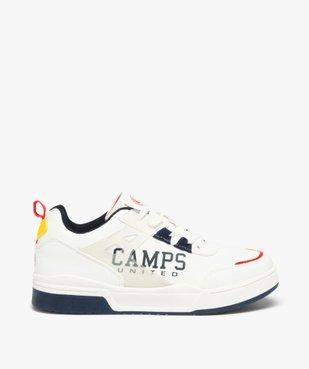 Tennis garçon colorées à lacets – Camps United vue1 - CAMPS UNITED - GEMO