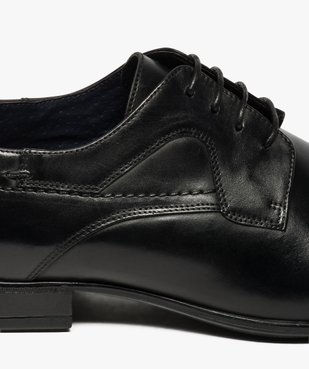 Derbies homme dessus cuir à bout carré vue6 - Nikesneakers(URBAIN) - Nikesneakers