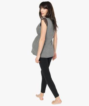 Pyjama de grossesse (2 pièces) : pantalon + top vue3 - GEMO (MATER) - GEMO