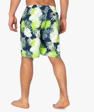 Short de bain homme motif tropical - Roadsign vue3 - ROADSIGN - GEMO