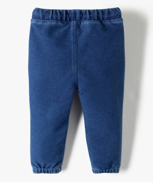Pantalon bébé garçon en maille souple vue3 - Nikesneakers(BEBE DEBT) - Nikesneakers