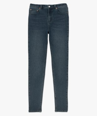 Jean femme en stretch coupe Skinny taille haute vue4 - GEMO(FEMME PAP) - GEMO