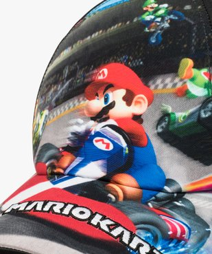 Caquette garçon avec motif XL - Mariokart vue2 - MARIOKART - Nikesneakers