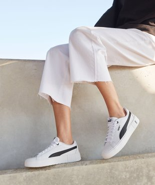 Tennis femme à semelle plateforme – Puma Smash vue6 - PUMA - Nikesneakers