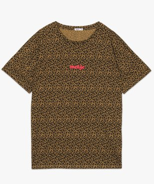 Tee-shirt femme loose à manches courtes et imprimé vue4 - Nikesneakers (G TAILLE) - Nikesneakers