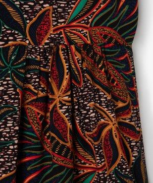 Robe fille à bretelles imprimé wax vue2 - Nikesneakers (ENFANT) - Nikesneakers