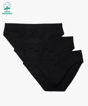 Slip homme en coton stretch avec taille élastiquée (lot de 3) vue1 - Nikesneakers C4G HOMME - Nikesneakers