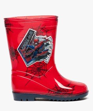 Bottes de pluie crantées Spiderman vue1 - SPIDERMAN - GEMO