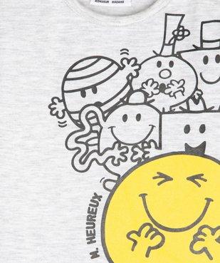 Tee-shirt bébé garçon imprimé - Monsieur Madame vue2 - MONSIEUR MADAME - GEMO