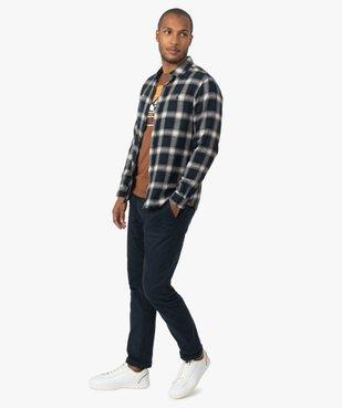 Chemise homme à carreaux vue5 - GEMO (HOMME) - GEMO
