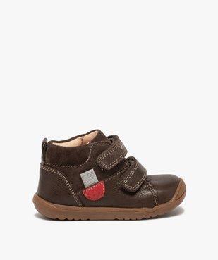 Chaussures premiers pas bébé unies en cuir - Geox vue1 - GEOX - GEMO