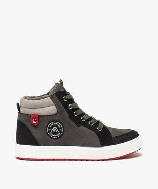 Boots garçon à semelle contrastante et col rembourré vue1 - Nikesneakers (ENFANT) - Nikesneakers
