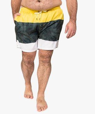 Short de bain homme tricolore vue1 - Nikesneakers (PLAGE) - Nikesneakers