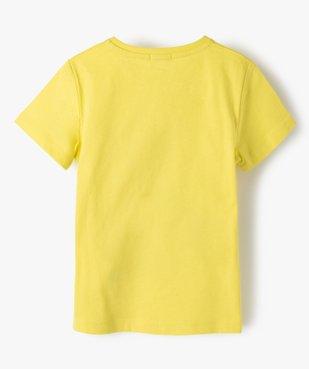 Tee-shirt garçon avec motif en sequins réversibles vue4 - GEMO (ENFANT) - GEMO