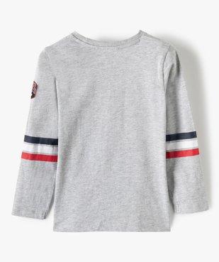 Tee-shirt garçon à manches longues imprimé - La Pat'Patrouille vue5 - PAT PATROUILLE - GEMO