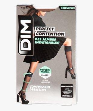 Mi-bas femme de contention transparents – Perfect Contention DIM vue3 - DIM - GEMO