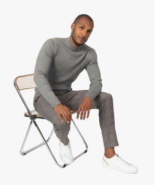 Pantalon homme à motif Prince de Galles vue5 - Nikesneakers (HOMME) - Nikesneakers
