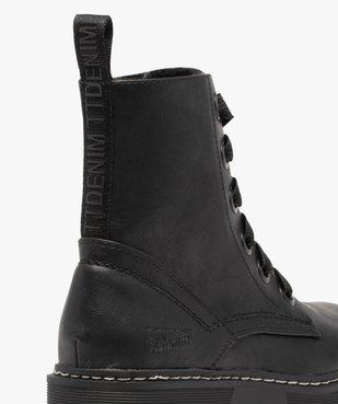 Boots femme à semelle plateforme crantée – Tom Tailor vue6 - TOM TAILOR - GEMO