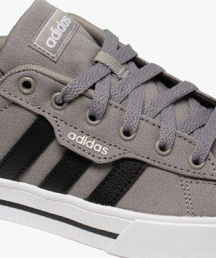 Tennis garçon à lacets en toile bicolores – Adidas vue6 - ADIDAS - Nikesneakers
