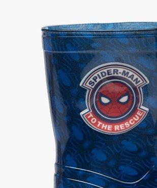 Bottes de pluie garçon imprimées araignées – Spider Man vue6 - SPIDERMAN - GEMO