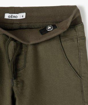 Pantalon garçon multipoches en matière résistante vue3 - Nikesneakers C4G GARCON - Nikesneakers