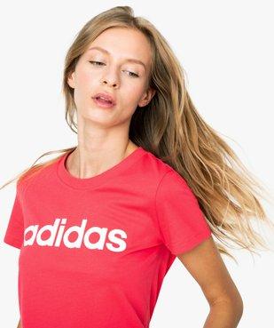 Tee-shirt femme à manches coutes - Adidas vue2 - ADIDAS - GEMO