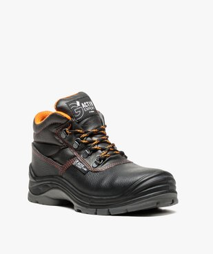 Chaussures de sécurité montantes S3 vue2 - GEMO (SECURITE) - GEMO