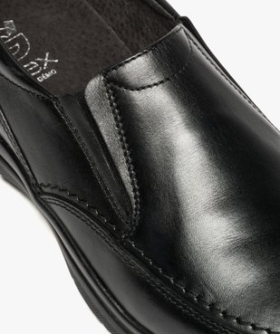 Mocassins homme confort unis à enfiler vue6 - ZEN AIR - Nikesneakers