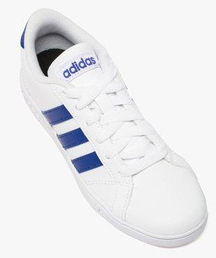 Basket enfant à lacets bicolore Baseline K - Adidas vue5 - ADIDAS - GEMO