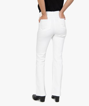 Jean femme coupe Flare taille haute vue3 - GEMO(FEMME PAP) - GEMO