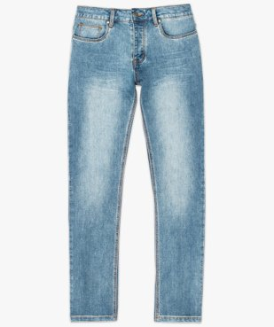 Jean homme coupe straight vue4 - GEMO (HOMME) - GEMO