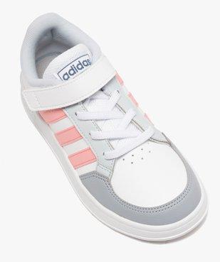Baskets fille à lacets et scratch – Adidas Breaknet vue5 - ADIDAS - Nikesneakers
