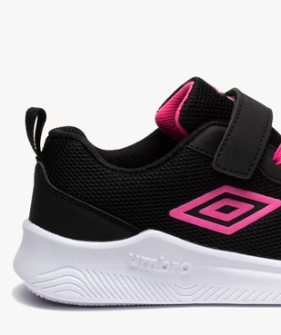 Chaussures de running fille bicolores à scratch - Umbro vue6 - UMBRO - GEMO