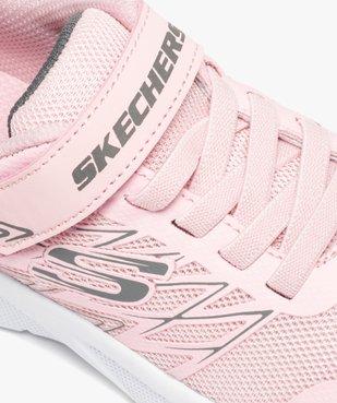 Baskets fille en mesh spécial running - Skechers Microspec vue6 - SKECHERS - GEMO