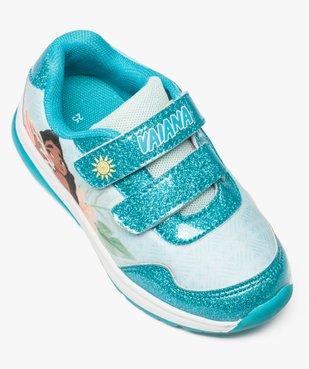 Baskets fille avec motif Vaiana et semelle lumineuse - Disney vue5 - VAIANA - GEMO