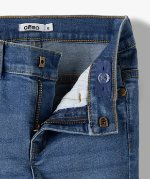 Jean garçon coupe skinny extensible 5 poches  vue3 - GEMO C4G GARCON - GEMO