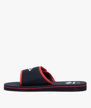 Mules de piscine garçon bicolores à scratch - Umbro vue3 - UMBRO - Nikesneakers