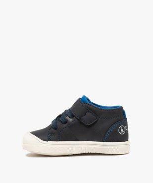 Chaussures premiers pas bébé garçon – Alma Planète vue3 - ALMA PLANETE - GEMO