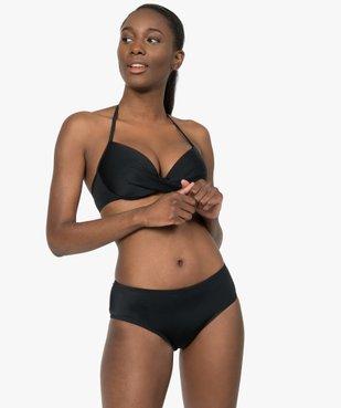 Bas de maillot de bain femme forme shorty vue3 - GEMO (PLAGE) - GEMO