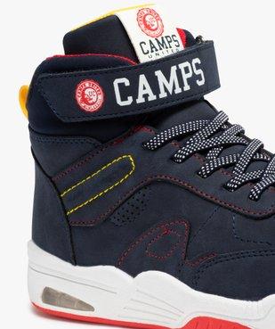 Baskets garçon mid-cut à surpiqûres colorées – Camps United vue6 - CAMPS UNITED - GEMO