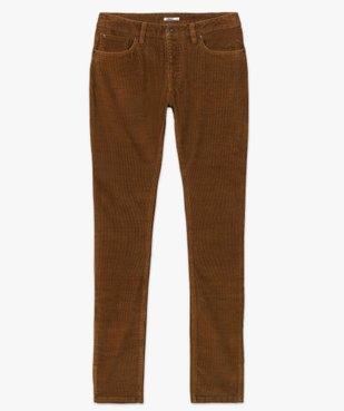 Pantalon homme en velours fines côtes extensible vue4 - GEMO (HOMME) - GEMO