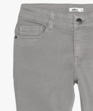 Pantalon garçon style jean slim 5 poches vue2 - Nikesneakers (JUNIOR) - Nikesneakers