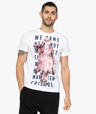 Tee-shirt homme avec motif XXL – Peaky Blinders vue1 - PEAKY BLINDERS - GEMO
