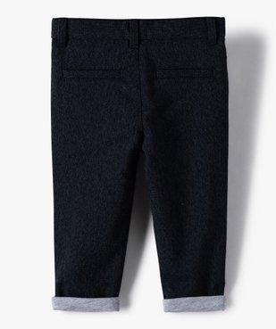 Pantalon bébé garçon entièrement doublé – Lulu Castagnette vue3 - LULUCASTAGNETTE - GEMO